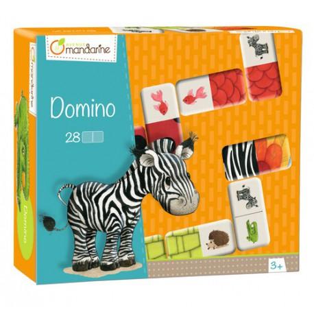 Domino : animaux et textures