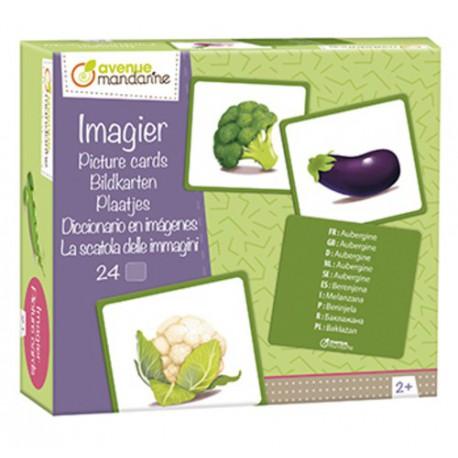 Imagier : légumes