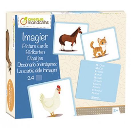 Imagier : animaux familiers
