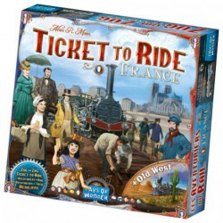 Aventuriers du Rail : France (Old West)