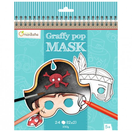 Graffy Pop Mask : garçon