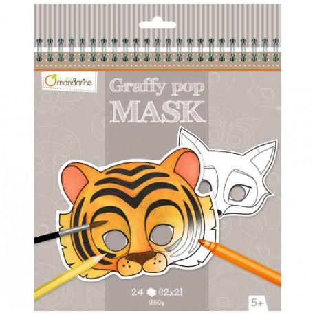 Graffy Pop Mask : animaux