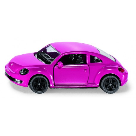 New Beetle rose avec stickers