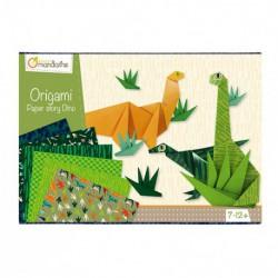 Boîte créative : origami dinosaures