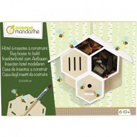 Boîte créative : maison à insectes