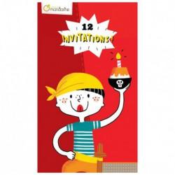 Cartes d'invitation : pirates
