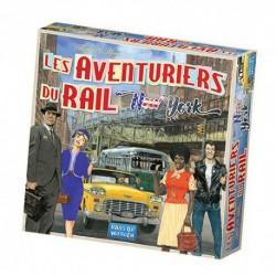 Aventuriers du Rail : New-York