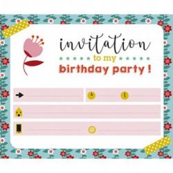 Cartes d'invitation : garden party