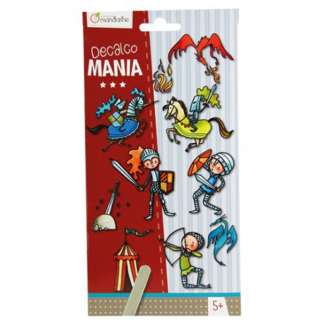 Decalco Mania : chevaliers