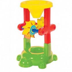 Moulin tortue : jouet de bain