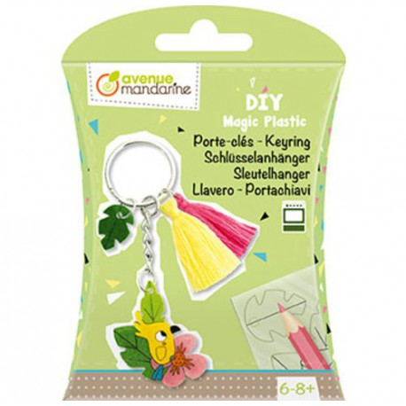 DIY Box : porte-clés plastique magique