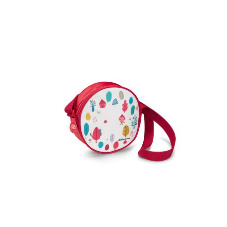 Chaperon rouge : sac à main rond