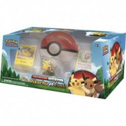 Pokemon : pokéball collection box Pikachu et Evoli