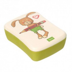 Lunch Box en bambou - Lapin