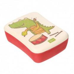 Lunch Box en bambou - Crocodile