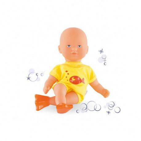 Mini bain jaune