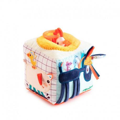 Cube sonore d'activités : ferme