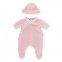 Pyjama rose pour poupon 30 cm