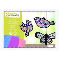Boîte créative : papier vitrail