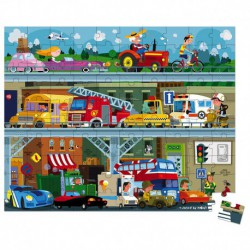 Puzzle : véhicules