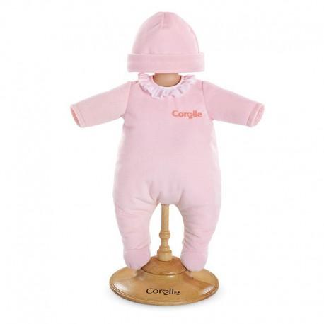 Pyjama rose pour poupon 36vcm