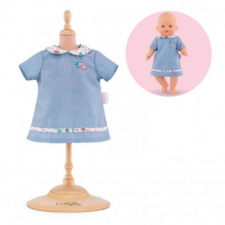 Robe TropiCorolle pour bébé 36 cm