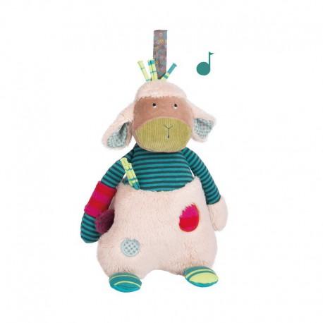 Les Jolis pas beaux : poupée musique mouton