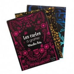 Les petites merveilles : cartes à gratter fluo