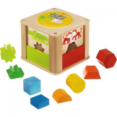 Boîte à formes : les animaux du zoo