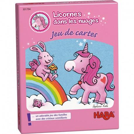 Licornes dans les nuages : jeu de cartes
