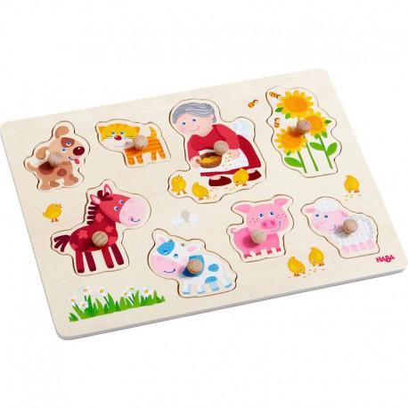 Puzzle : les animaux de mamie Leni
