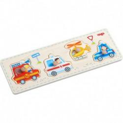 Puzzle : véhicules d'urgence
