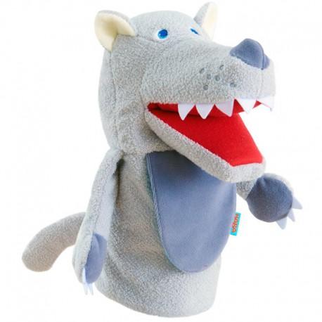 Marionnette : monstre Mangetout petit loup