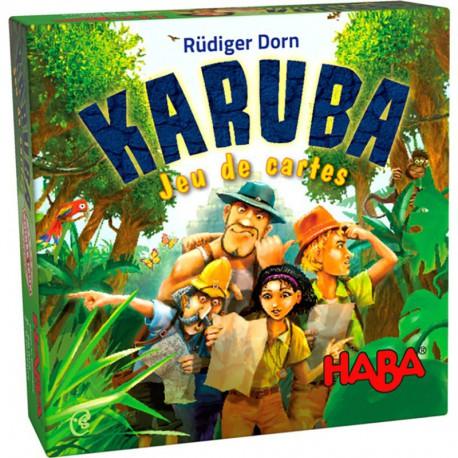 Karuba : jeu de cartes
