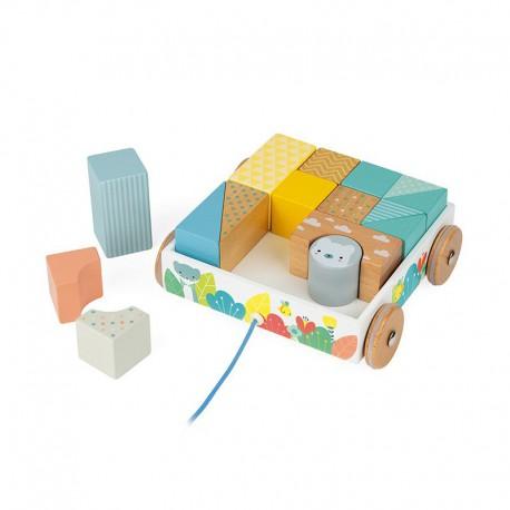 Chariot de cubes à promener : pure