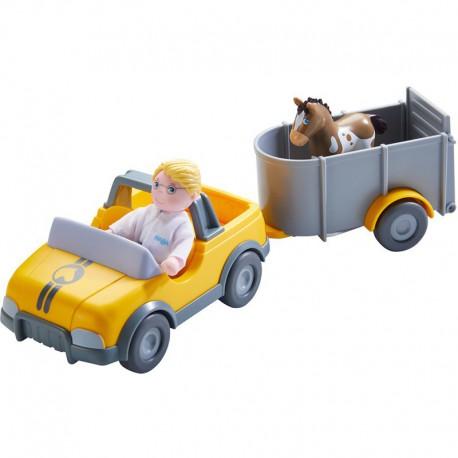 Little friends : voiture de vétérinaire avec remorque