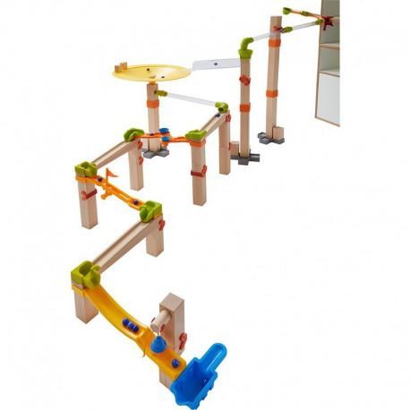 Toboggan à billes : master construction