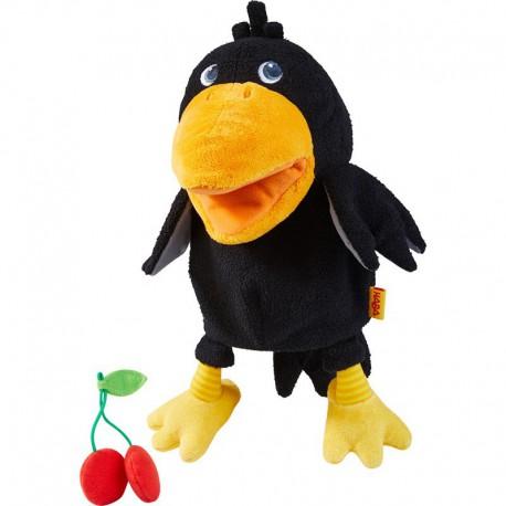 Marionnette : corbeau Théo
