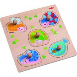 Puzzle : animaux multicolores
