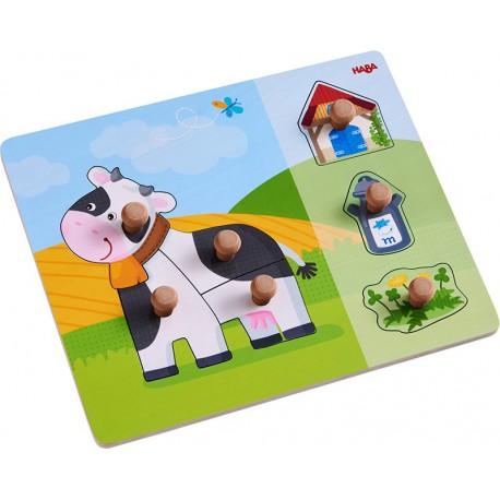 Puzzle : vache annebelle