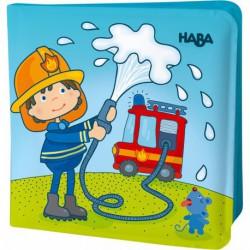 Livre de bain magique : au feu les pompiers