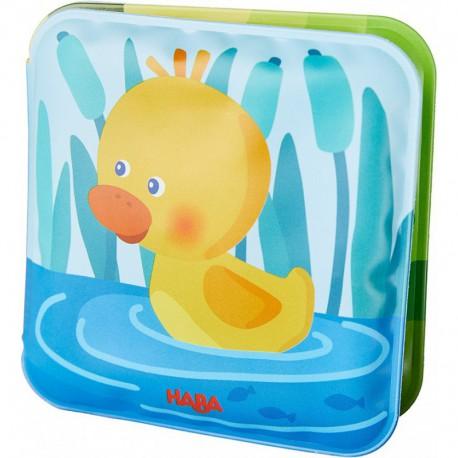Mini-livre de bain : canard Albert
