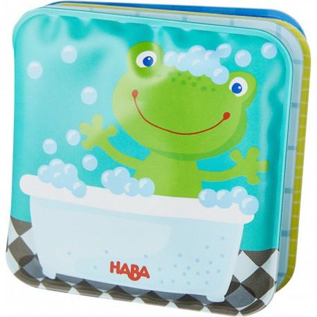 Mini-livre de bain : grenouille Fritz