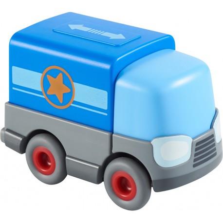 Kullerbü : camion à pile avec remorque