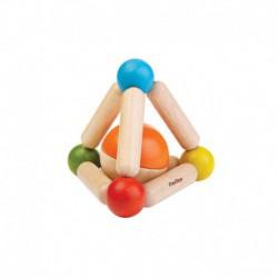 Hochet : pyramide avec balle
