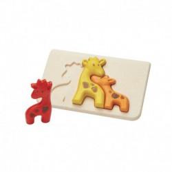 Puzzle : girafe