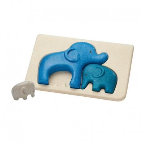 Puzzle : éléphant