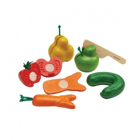 Set de légumes tordus