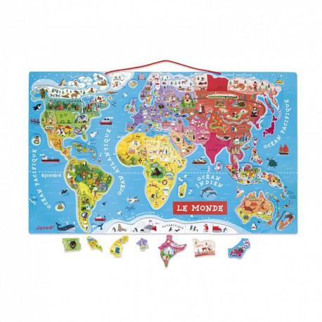Puzzle : monde magnétique