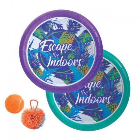 Ogo sport tropical (jeu de raquettes et frisbee)
